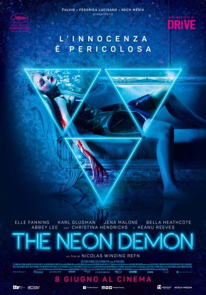 The Neon Demon Italian Poster