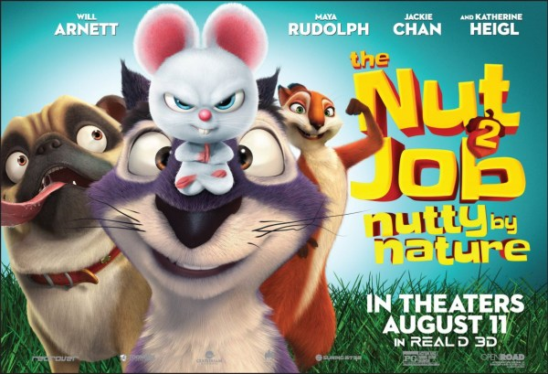 The Nut Job 2 New Banner Poster