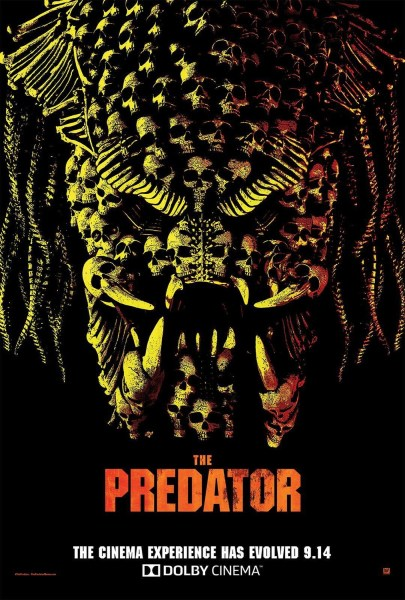 The Predator 2018 Dolby Poster