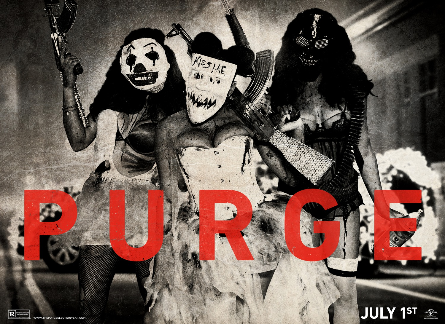 The Purge Election Year Poster Wallpapers: Teaser Trailer