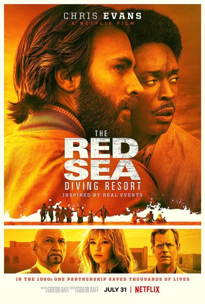 The Red Sea Diving Resort Movie Poster