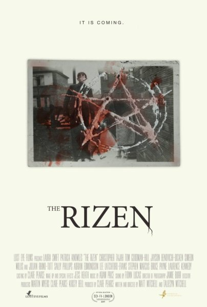The Rizen Movie Pentagram Poster