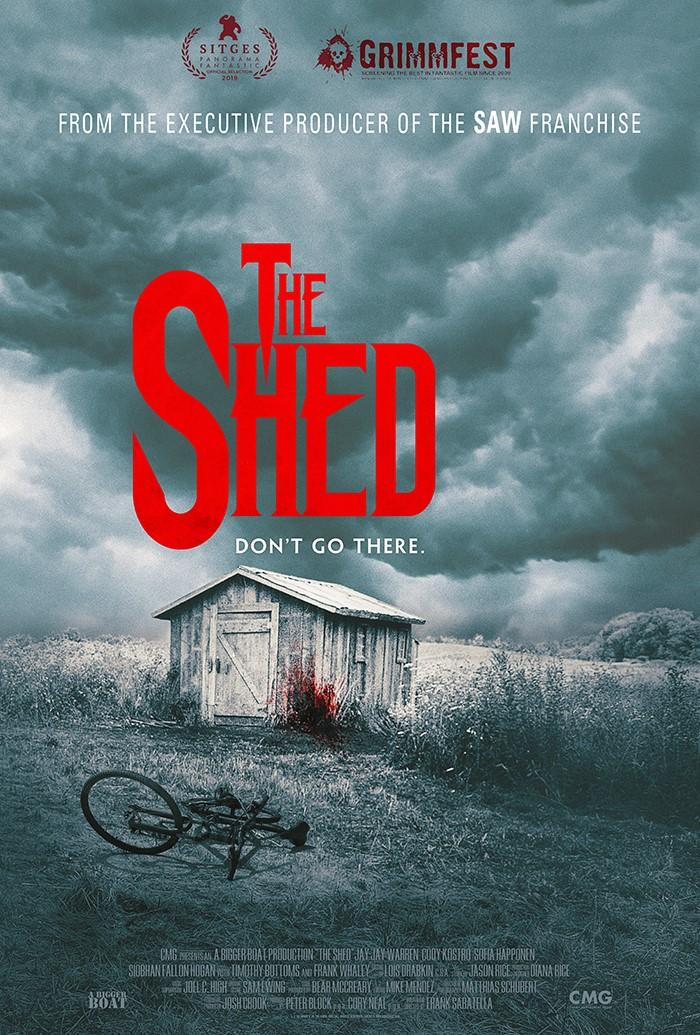 Resultado de imagem para the shed Frank Sabatella poster