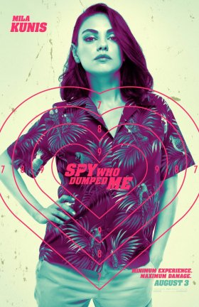 The Spy Who Dumped Me Character Poster - Mila Kunis