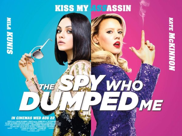 The Spy Who Dumped UK Poster