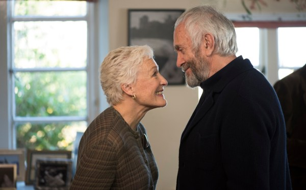The Wife Movie - Glenn Close and Jonathan Pryce