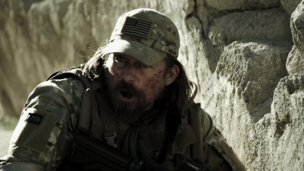 Tim Abell as Sergeant Vic Mosby in Sniper Special Ops