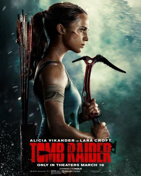 Tomb Raider Film - Alicia Vikander