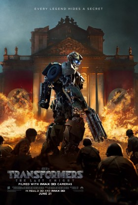 Transformers 5 The Last Knight - Every legend hides a secret.