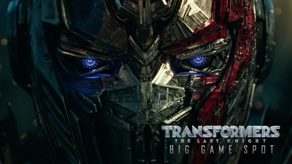 Transformers 5 The Last Knight Super Bowl