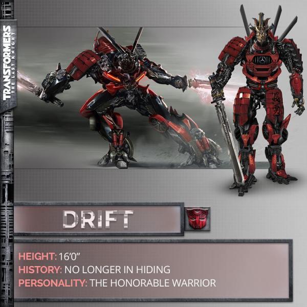 Transformers The Last Knight movie - Drift