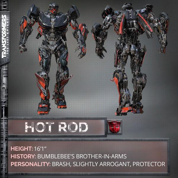 Transformers The Last Knight movie - Hotrod