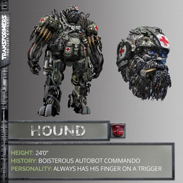 Transformers The Last Knight movie - Hound