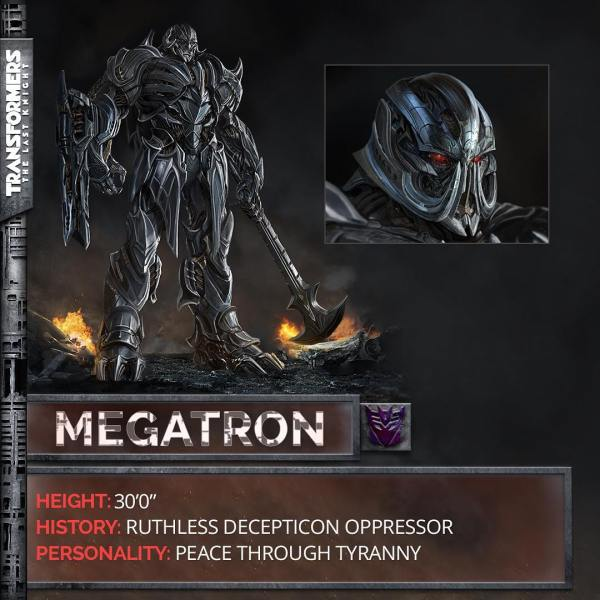 Transformers The Last Knight movie - Megatron