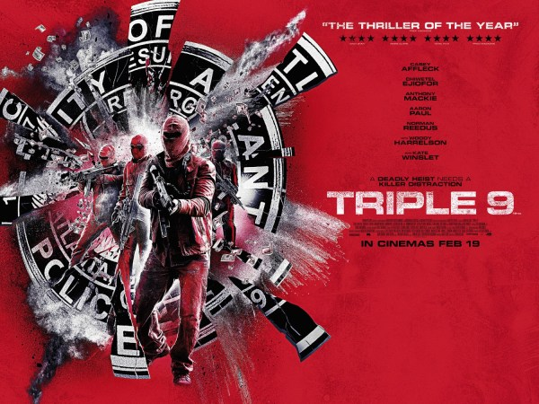 Triple 9 Red banner poster