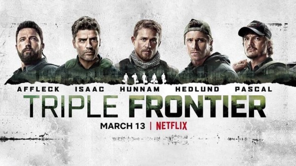 Triple Frontier Banner Poster