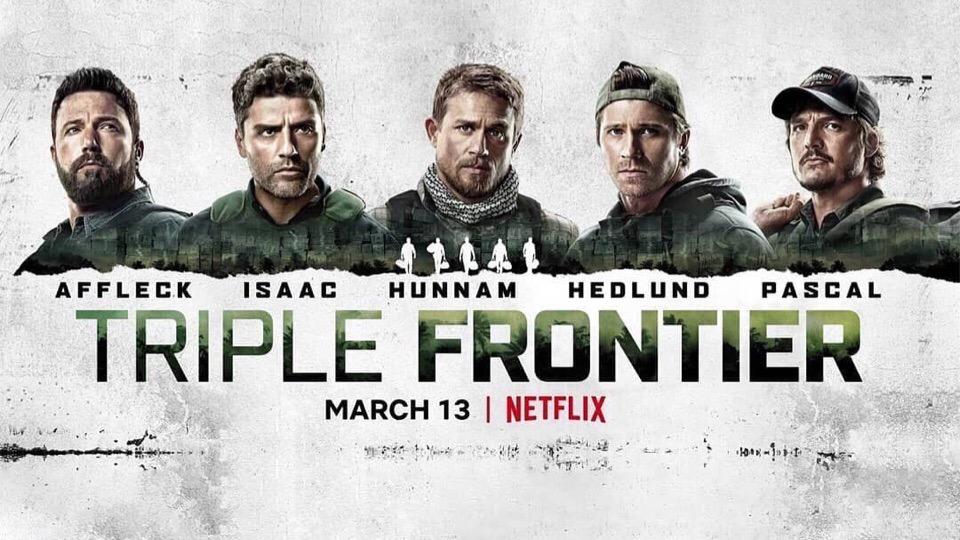 ผลการค้นหารูปภาพสำหรับ triple frontier poster