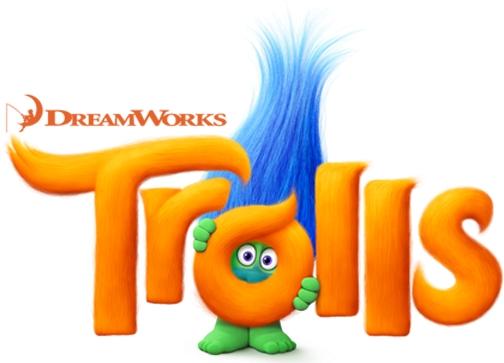 Trolls Movie Logo