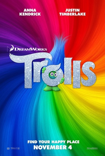 Trolls Rainbow Poster