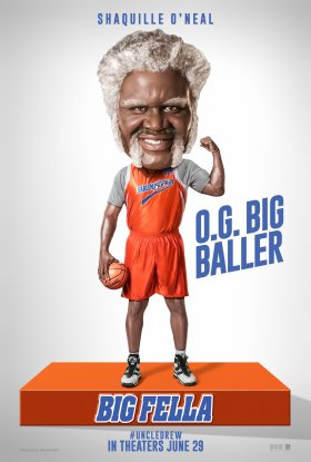 Uncle Drew Movie Character Poster - Shaquille O'Neal