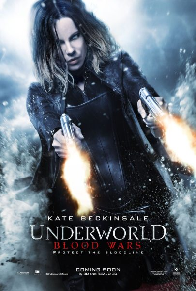 Underworld Blood Wars 2Guns Poster