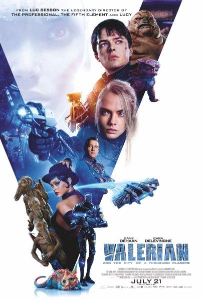 Valerian New Poster