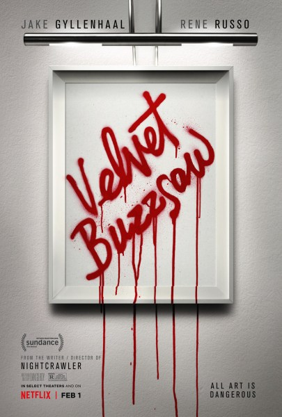 Velvet Buzzsaw Movie Poster