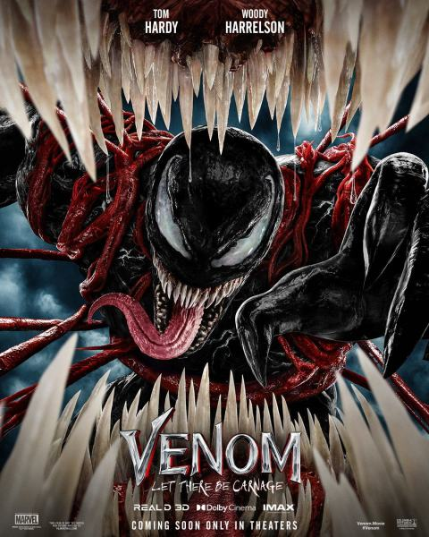 Venom 2 Let There Be Carnage Movie Poster