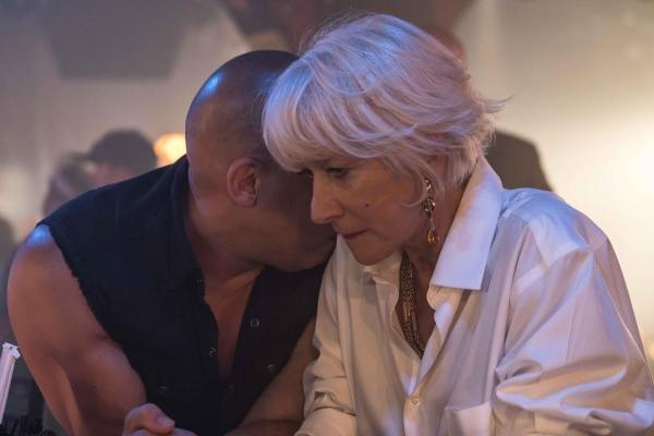 Vin Diesel and Helen Mirren - Fast and Furious 8
