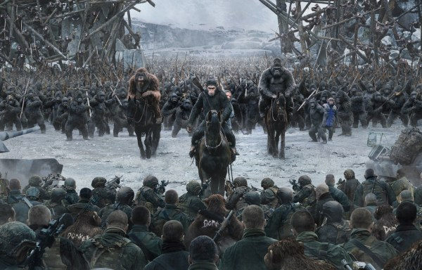 War For The Planet Of The Apes Film