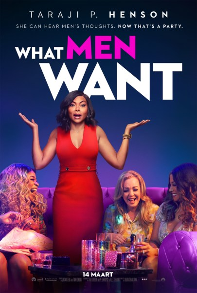 What Men Want Dutch Poster