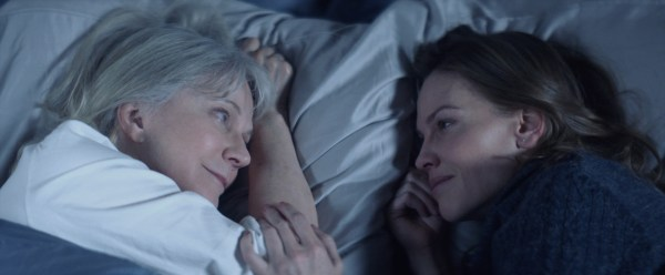 Blythe Danner and Hilary Swank star as Ruth and Bridget Keller in WHAT THEY HAD, a Bleecker Street release. - Photo courtesy of Bleecker Street
