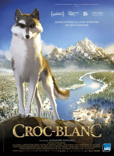 White Fang French Poster