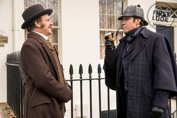 Will Ferrell And John C. Reilly Holmes And Watson Movie