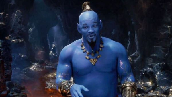 Will Smith As Genie Aladdin Movie 2019