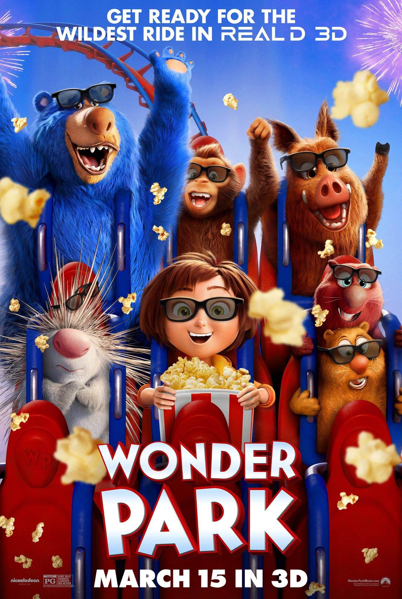 Nickelodeon Movies Wonderpark : nickelodeon, movies, wonderpark, Wonder, |Teaser, Trailer