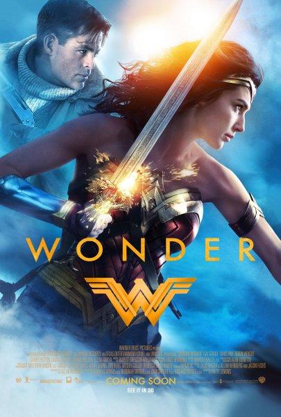 Wonder Woman-  Chris Pine And Gal Gadot
