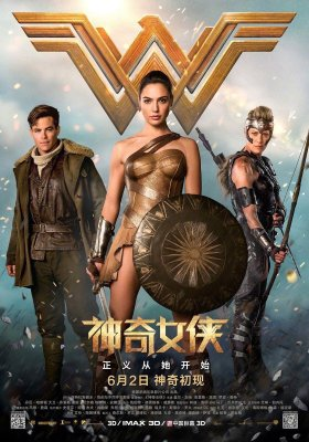 Wonder Woman New Chinese Poster