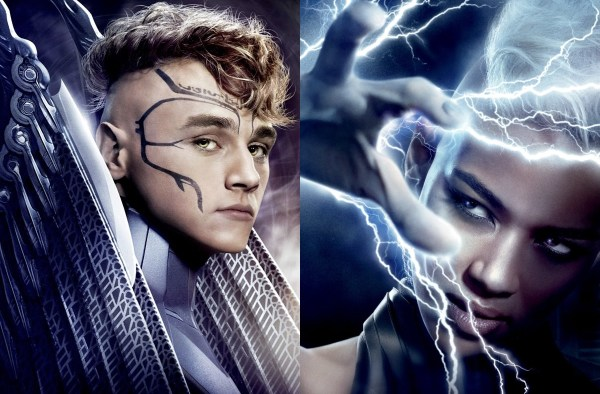 X-Men Apocalypse Film 2016 - Angel and Storm