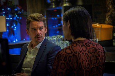 Xu Qing And Ethan Hawke - 24 Hours To Live Movie