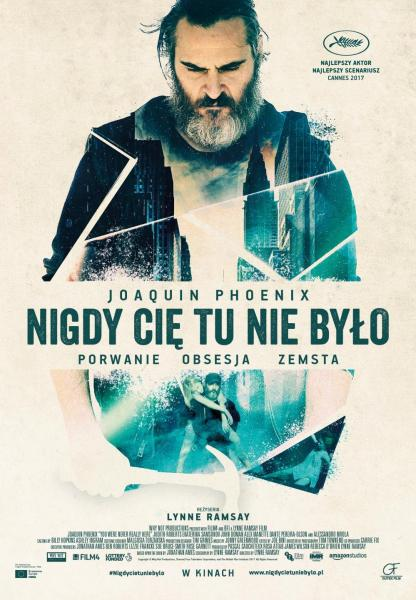 You Were Never Really Here Poland Poster