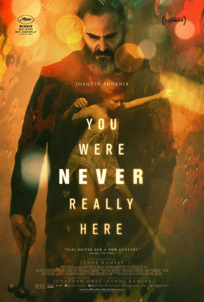 You Were Never Really Here New Film Poster