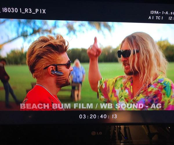 Zac Efron And Matthew McConaughey - The Beach Bum Movie