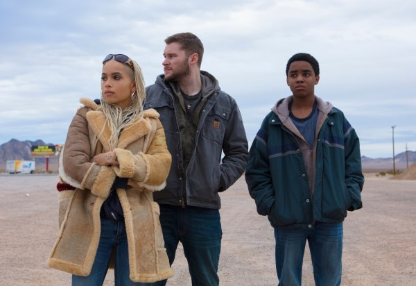 Zoe Kravitz, Jack Reynor And Myles Truitt - Kin movie