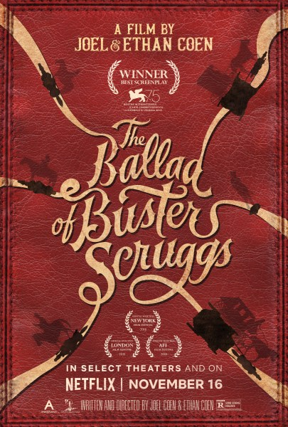 Ballad Of Buster Sthe Cruggs New Poster