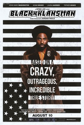 Blackkklansman New Film Poster