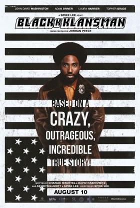 Blackkklansman New Film Poster