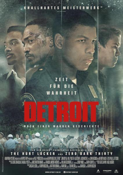 Detroit German Poster