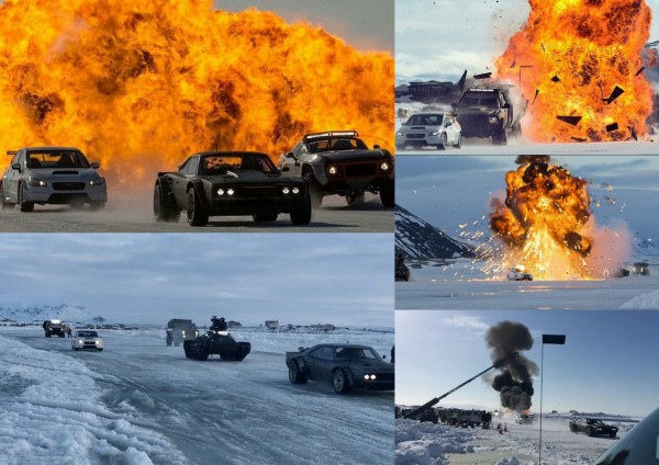Explosion - Fast 8 film