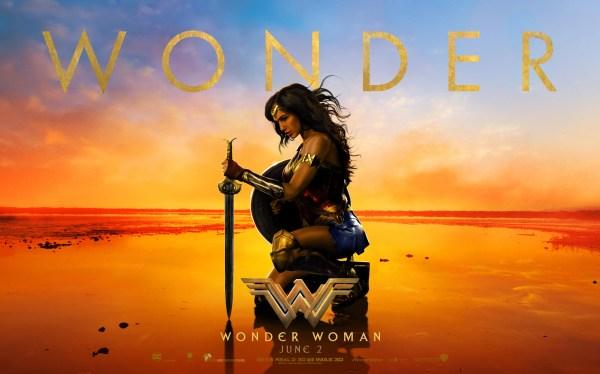 Gal Gadot Wonder Woman Movie - June 2017